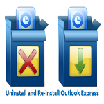 uninstall and reinstall outlook express
