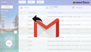 Undo send mail in gmail