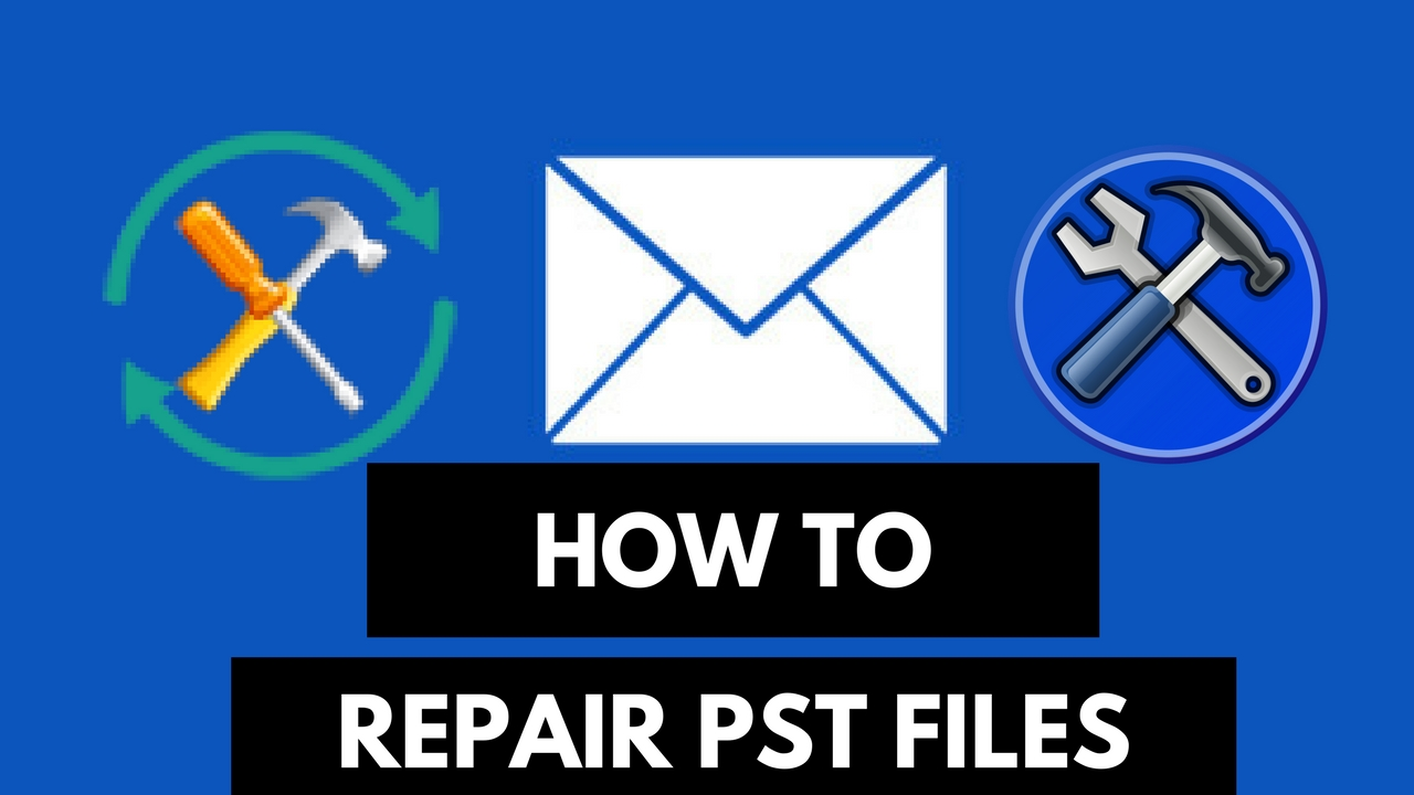 How To repair outlook PST files