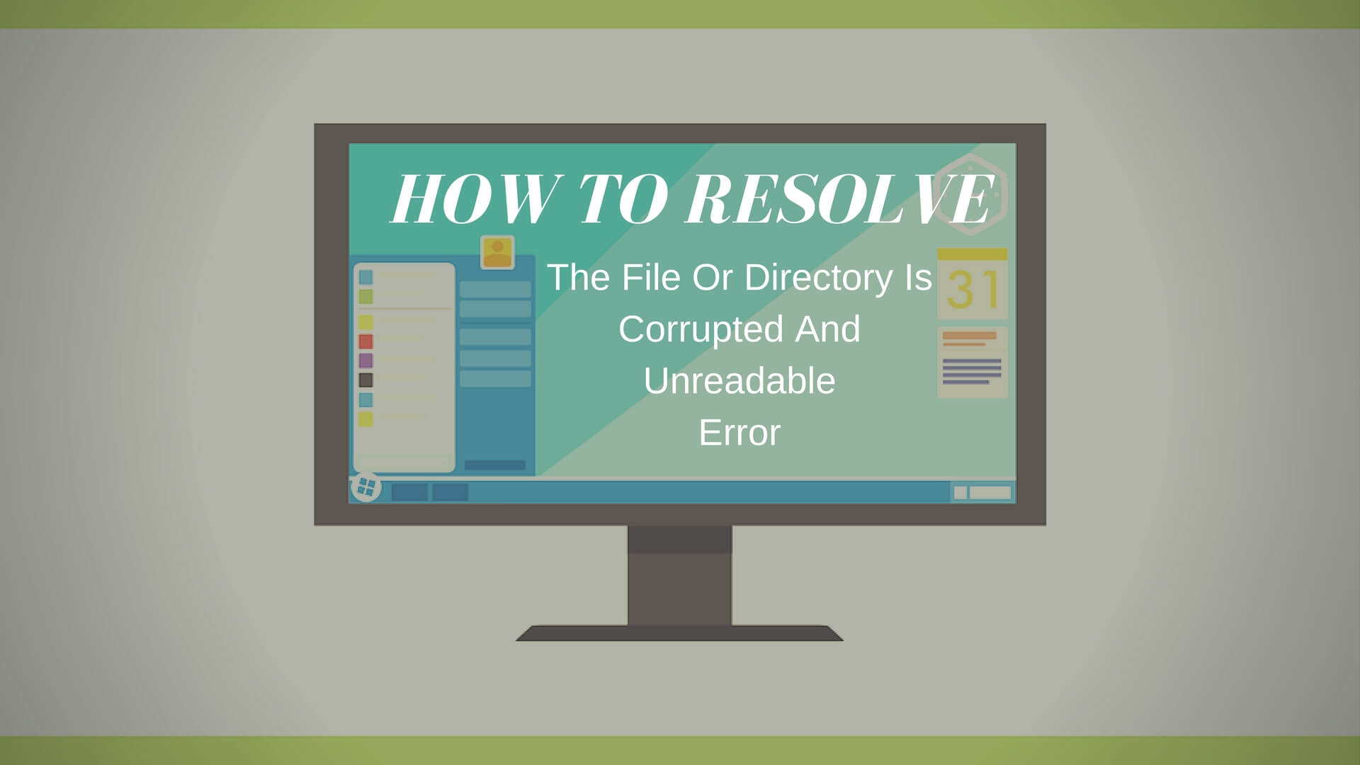 Drive H is not accessible. The file or directory is corrupted and unreadable