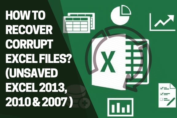 recover corrupt ms excel files
