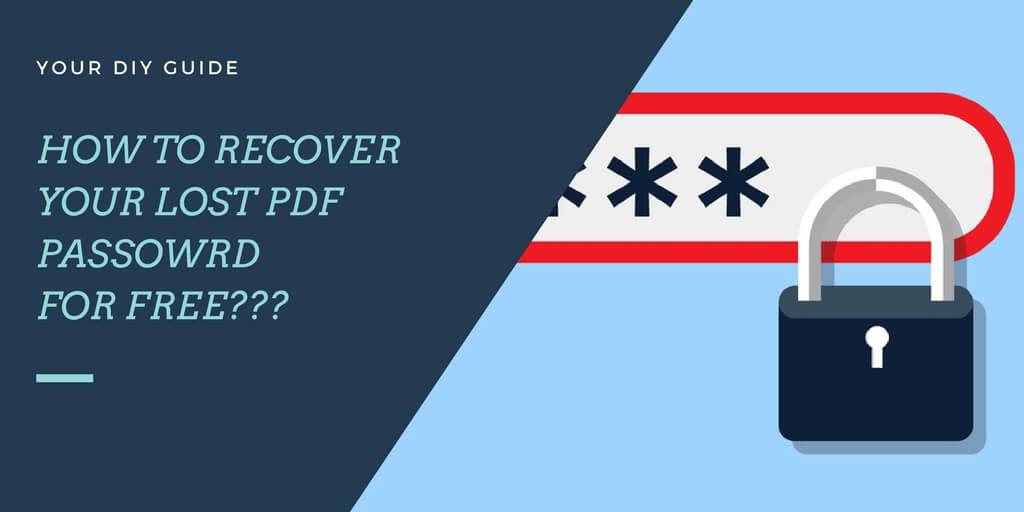DIY Guide On How To Remove Password From PDF Without Software