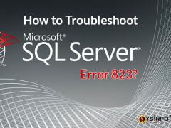 fix sql error 823