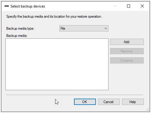 backup device