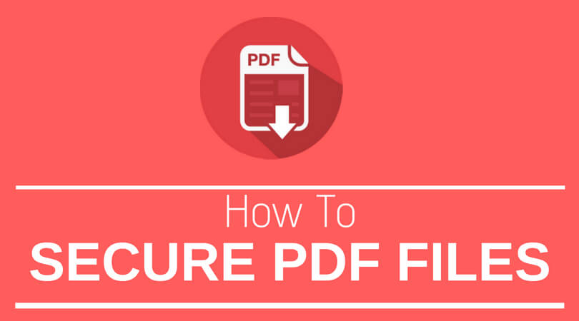 How to Set Password for PDF File In Adobe Reader?