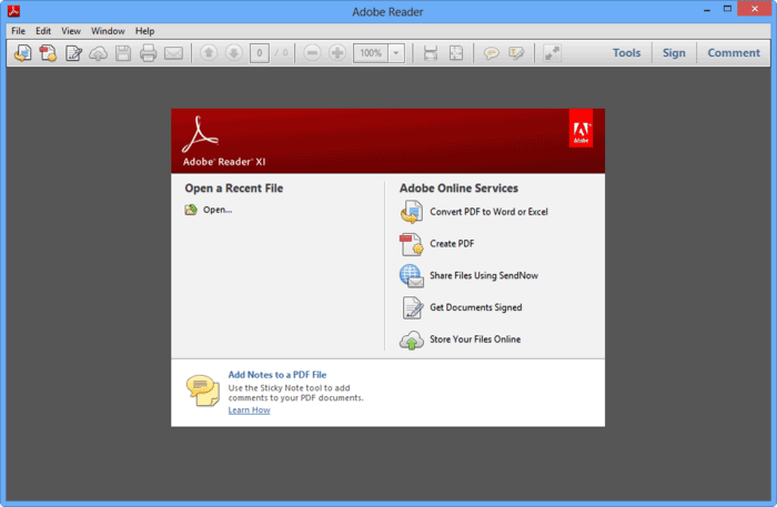 set password for PDF file in adobe reader