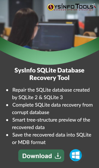 Fix Error SQLite Database Disk image is Malformed | SysInfoTools