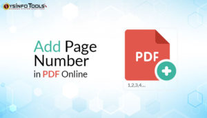 Add Page Number in PDF Online