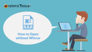 Open RAR file without WinRAR