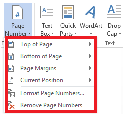 how to add numbering in pdf file