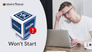 virtualbox cannot start the virtual device