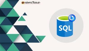 backup and restore sql database