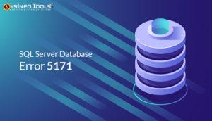 SQL Derver Error 5171