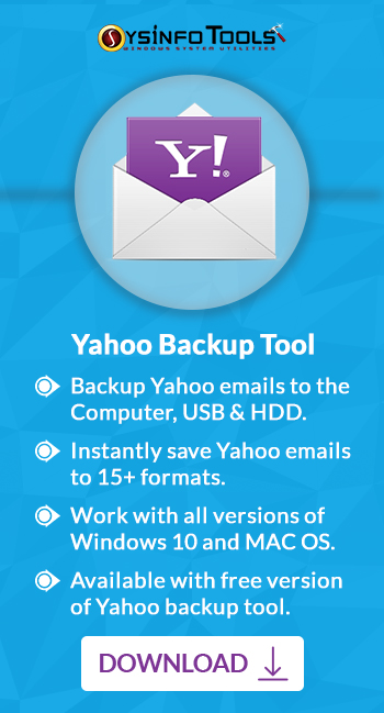 Backup Yahoo Mails