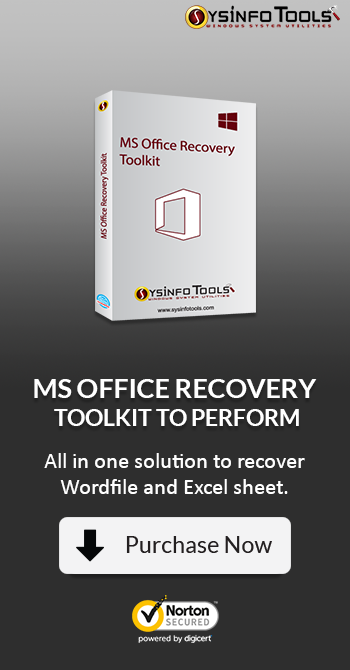 MS Office Recovery toolkit