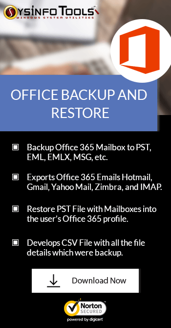 Office 365 Backup Tool