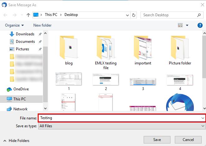 give file name