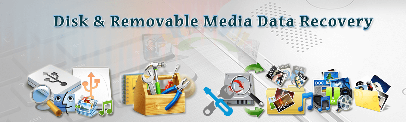 Recover lost or deleted files & data from all types of corrupt storage medias