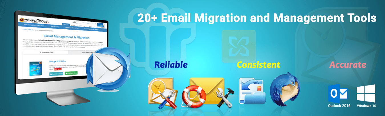 e-mails files repair and conversion