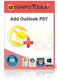 Add outlook pst Box