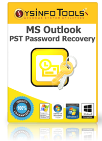 PST Password Recovery box