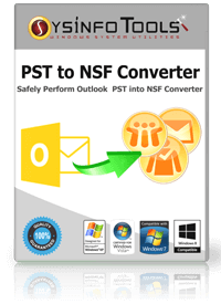 Windows 7 SysInfoTools PST to NSF Converter 7.0 full