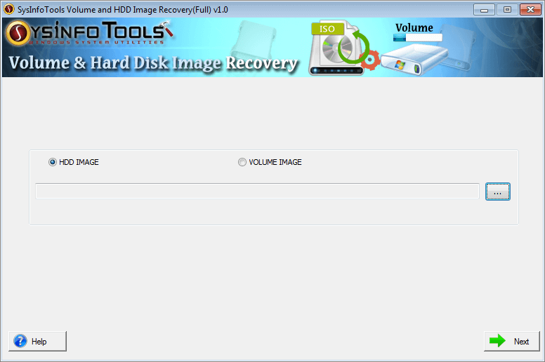 SysInfoTools Volume and HDD Image Recovery