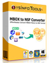 MBOX to NSF Converter