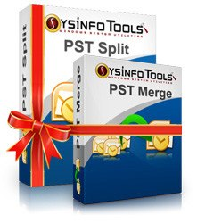 SysInfoTools PST Split and Merge Combo Pack full screenshot