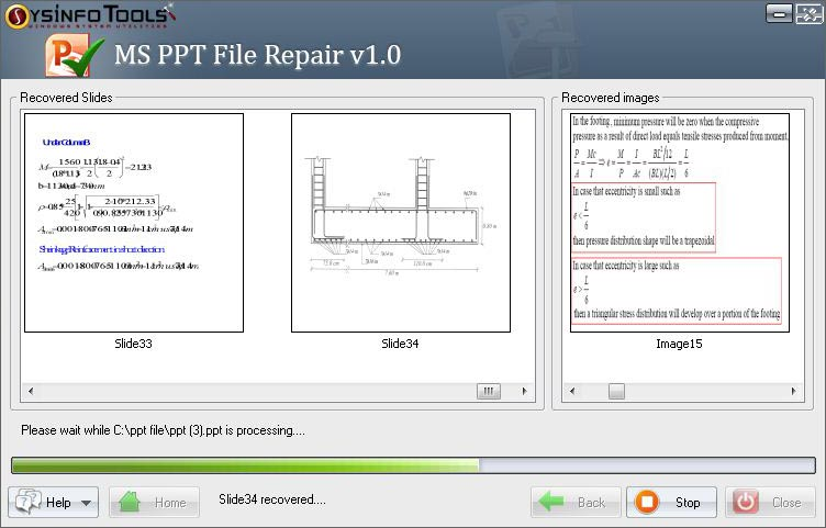 SysInfoTools PowerPoint PPT Repair
