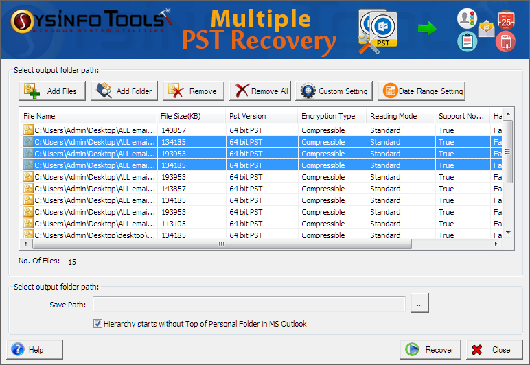Windows 7 SysInfoTools Advanced Outlook Recovery 8.0 full