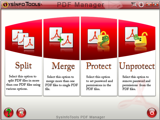 SysInfoTools PDF Manager 1.0