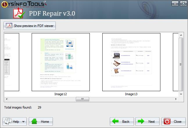 SysInfoTools PDF Repair 1.0