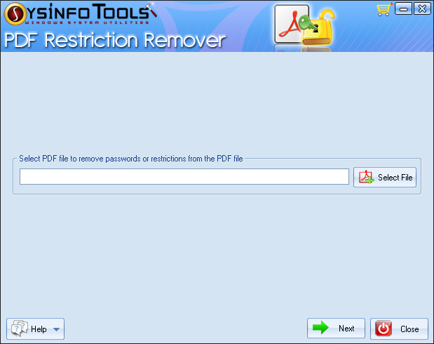 SysInfoTools PDF Restriction Remover 2.0
