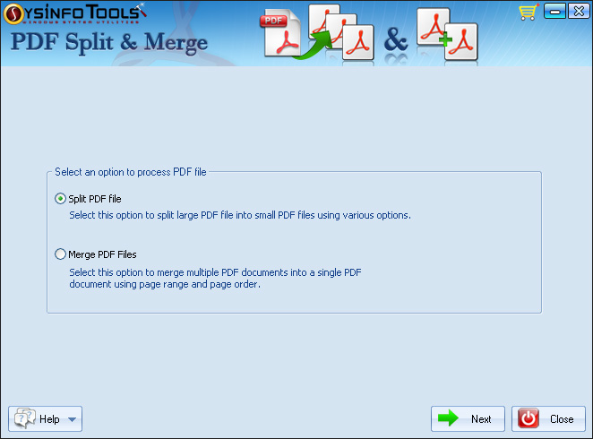 SysInfoTools PDF Split and Merge 1.0
