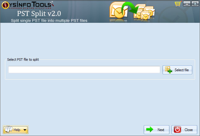 SysInfoTools PST Split 1.0