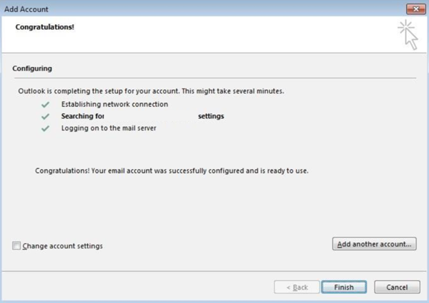 Configure Microsoft Outlook