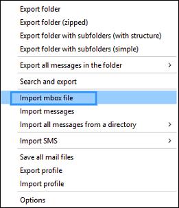 MBOX file