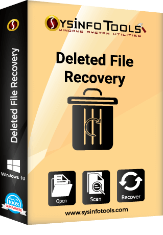 deleted file recovery software recovers permanently deleted files