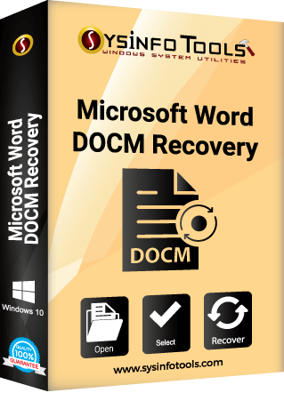 MS Word DOCM Recovery