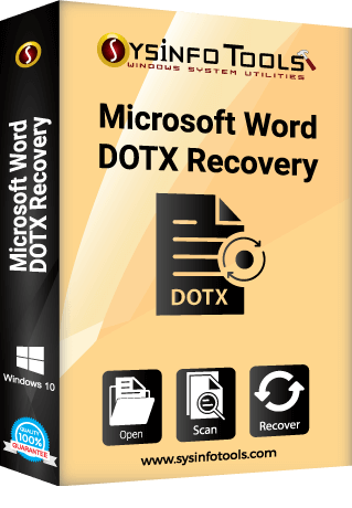 MS Word Dotx Recovery
