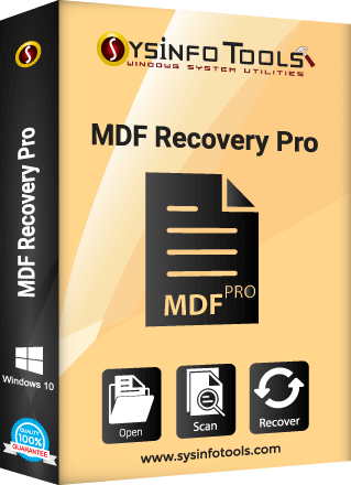 MDF file Recovery Pro