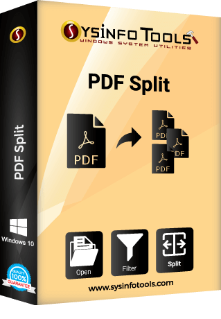 how to break pdf file into parts