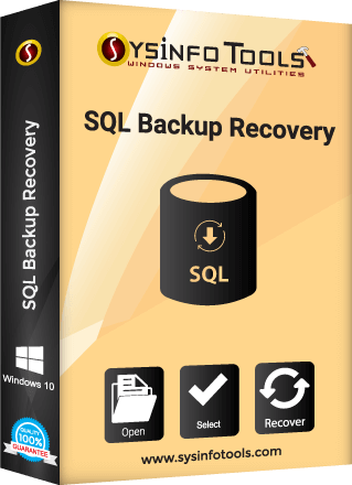 sql backup recovery sysinfo box
