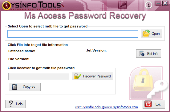 Sysinfo Access Password Recovery