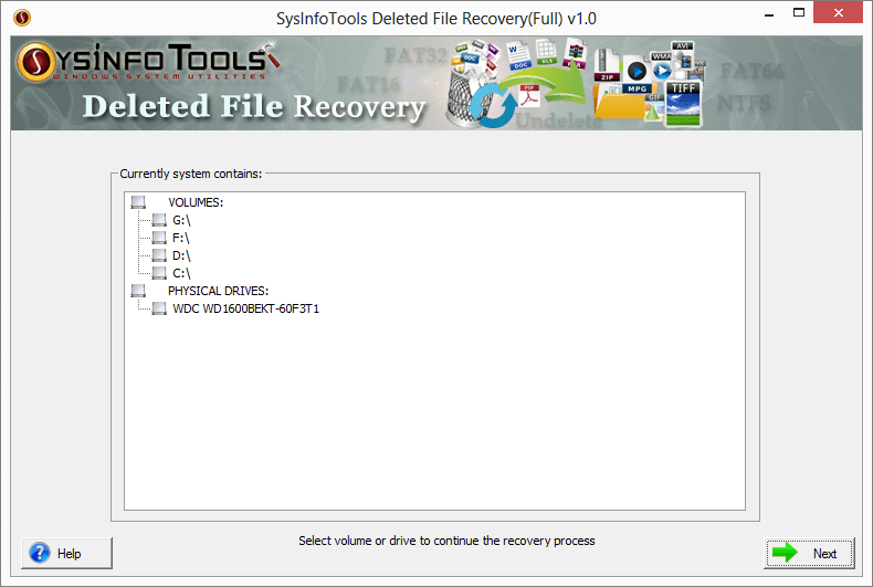 SysInfoTools Deleted File Recovery 1 full