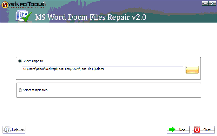 How to Repair MS Word DOCM Files Effectively and Swiftly?