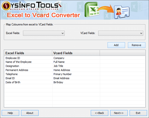 How to Convert Excel file into vCard Format - Guide