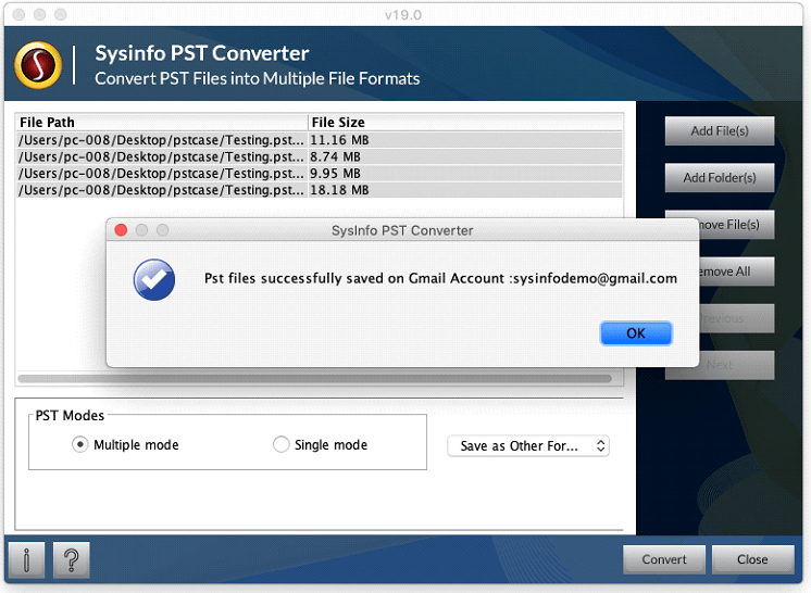 Mac PST Converter v19 0