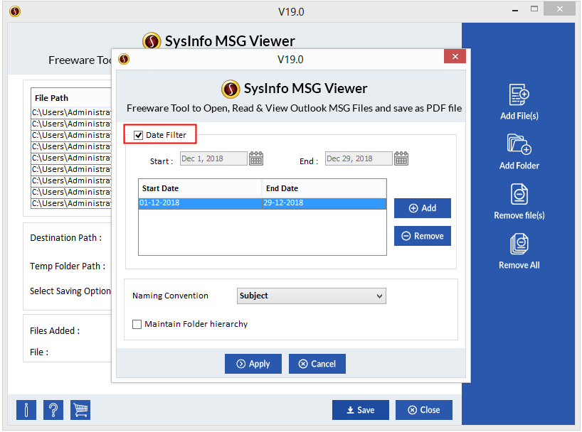 MSG Viewer Step 4